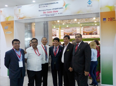 The India Show was inaugurated in Moscow on Wednesday. Source: Crocus Expo