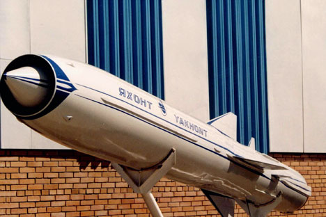 P-800 Onyx missile, known in export market as the Yakhont. Source: Itar-Tass