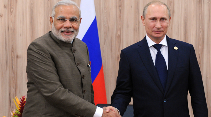 "Russia is considered in India as a ""potential geopolitical ally which could help India achieve a higher status in international relations"". Source: Michael Klimentyev / RIA Novosti"