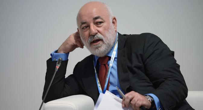 Viktor Vekselberg, The Skolkovo Foundation's president. Source: Vladimir Astapkovich / RIA Novosti