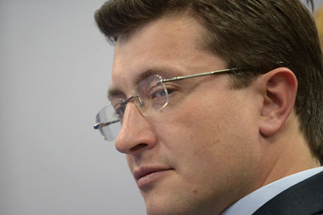Gleb Nikitin, First Deputy Minister of Industry and Trade. Source: Grigory Sisoev / RIA Novosti