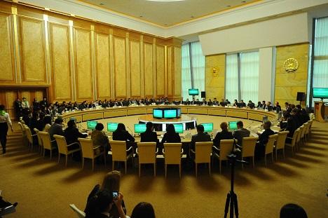 The Shanghai Cooperation Organization Youth Innovation Forum was held in Ufa. Source: www.ufa2015.ru