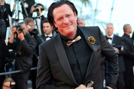 """Michael Madsen: """"I've been to Russia four times. And every time I come, it gets better and better."""" Source: AFP/East News"""