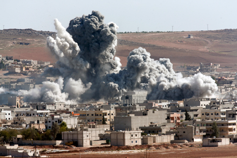 Kobani is yet another example of America making a mess in the Middle East. Source: AP