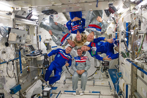 The International Space Station remains one place where Americans and Russians can find common ground. Source: NASA