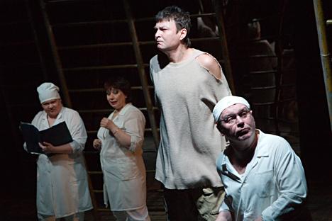 'Walpurgis Night' performance at the stage of Moscow's Yugo-zapadnaya theater. Source: Alexei Koshelev / PhotoXpress