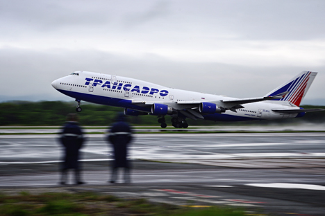 Bankruptcy was acknowledged as the best available option for Transaero. Source: Yury Smityuk\TASS