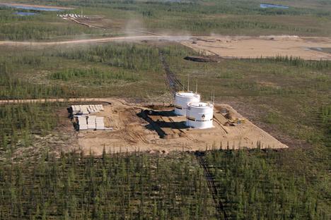 Vankor oilfield. Source: M. Stulov / TASS