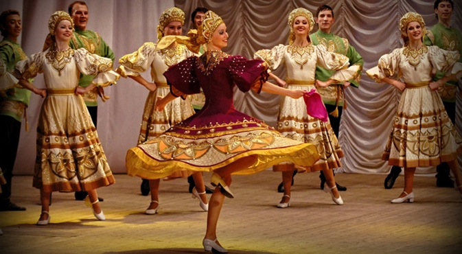 The Gzhel Dance Theater will go on tour in the city of Chandigarh. Source: tm.guzei.com