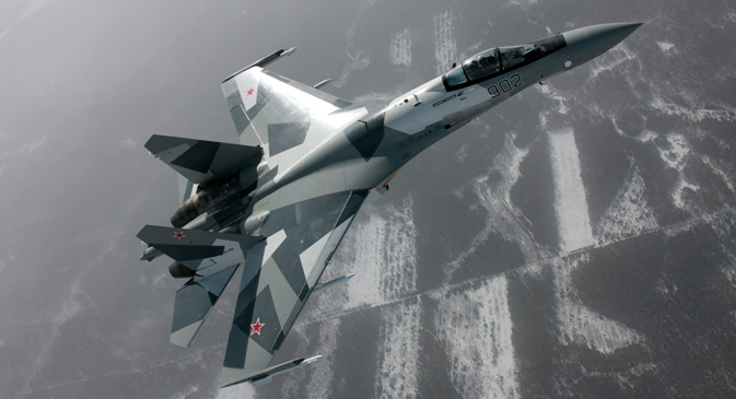 Su-35. Source: Sukhoi.org