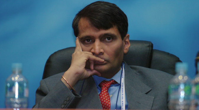 "Suresh Prabhu: ""India and Russia have a huge potential agenda."" Source: www.iisd.ca"