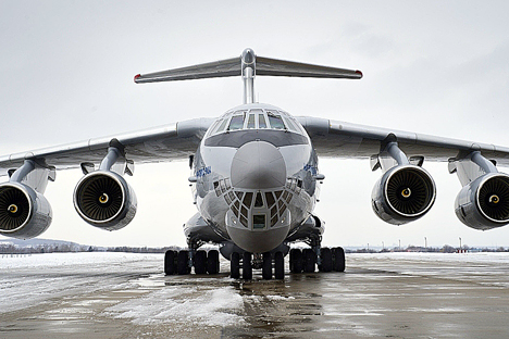 Ilyushin's IL-76. Source: Press Photo