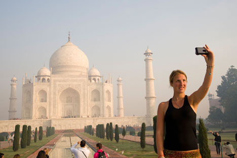 Russian tourist arrivals to India are set to increase. Source: Alamy Legion Media
