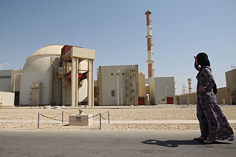 The Bushehr Nuclear Power Plant. Source: ValeriyMelnikov RIA Novosti