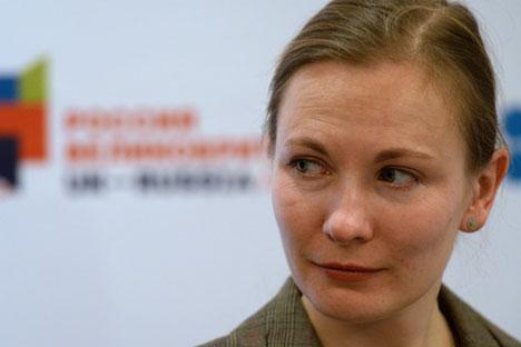 "Elena Milovzorova: ""Several generations of Russians grew up watching Indian films."" Source: Vladimir Vyatkin / RIA Novosti"