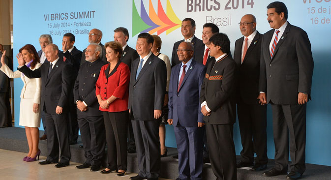 Currently, there are negotiations going on over the strategies of BRICS Countries Economic Cooperation project. Source: Getty Images/Fotobank