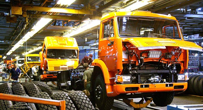 Kamaz would like to make India a hub for production. Source: http://rostec.ru
