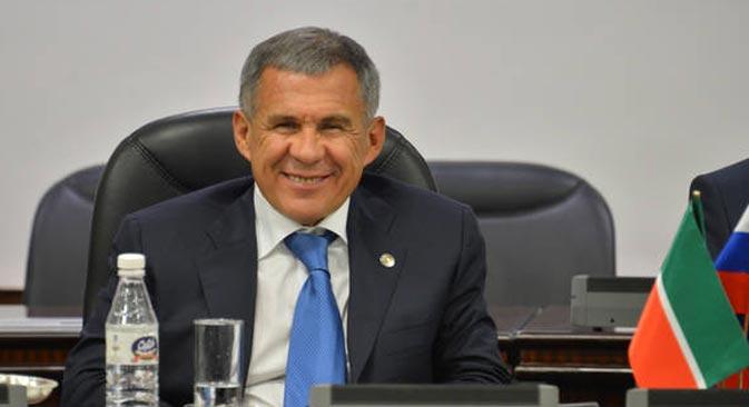 Rustam Minnikhanov. Source: http://president.tatarstan.ru