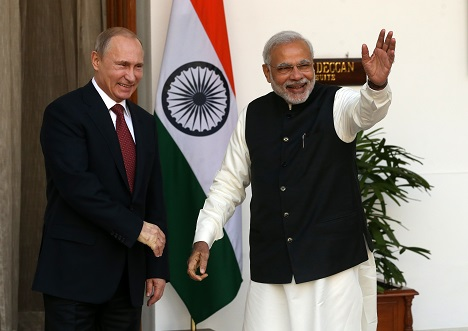 The annual Indo-Russian summit will be held on Oct. 15 in Goa. Source: Konstantin Zavrazhin / RG