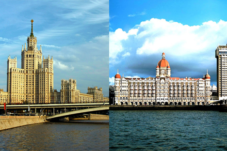 Moscow is four times larger than Mumbai, while the cities house the same number of people