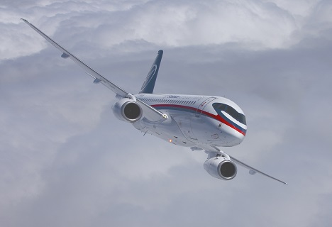 The flights geography of Sukhoi Superjet 100 has good prospects for expansion. Source: Sukhoi