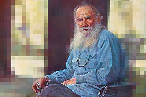 Tolstoy's dream has virtually come true: All of his texts are now available to everyone. Source: Sergei Prokudin-Gorsky