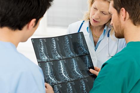 Unique intervertebral disk implants developed in Tomsk. Source: Shutterstock/Legion Media
