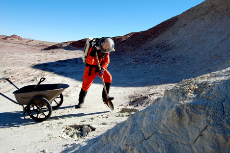 A participant in the Mars One and Mars Arctic 365 projects shares her experience. Source: Press photo