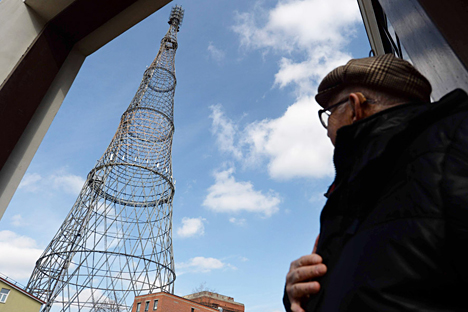The Shukhov Tower. Source: AFP / East News