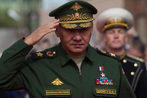 Руският министър на отбраната Сергей Шойгу.