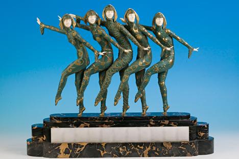 Les Girls, Demetre Chiparus. Source: Art Deco Museum