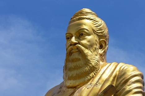 Statue of Tiruvalluvar in Vellore, Tamil Nadu. Source: Shutterstock