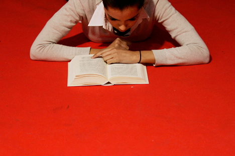 The Russian authorities have dubbed 2015 the Year of Literature. Source: Reuters