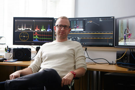 Rare films document over a century of tumultuous change. Pictured: Adam Hawkes, a digital artist. Source: Robin Mellor