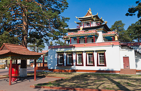 Buddhist temple Damba Braibunling in Chita. Source: Lori/Legion-Media