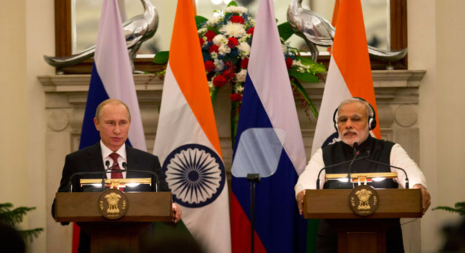 India and Russia have moved towards Asia-Pacific, and turning the global focus from a Western-centric order to a multipolar order. Source: AP
