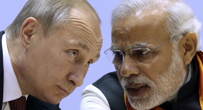 The Russian-Indian cooperation goes beyond the scope of bilateral relations and is becoming one of the cornerstones on which the new world order is being established. Source: Photoshot/Vostock Photo