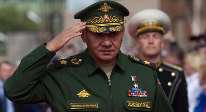 Russian Defence Minister Sergey Shoigu. Source: Igor Russak / RIA Novosti