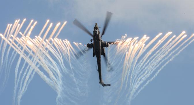 Mi-28 attack helicopter. Source: RIA Novosti / Mikhail Mokrushin