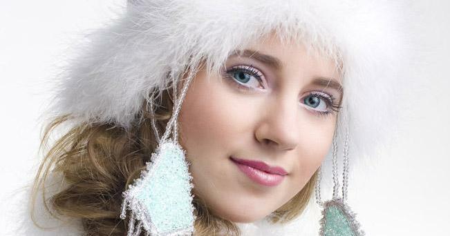Russia's snow maiden, Snegurochka of Kostroma. Source: Gleb Yefanov / snegurochkadom.ru