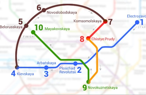 Use RIR's very own route to travel in Moscow metro. Source: Grigory Avoyan / RIR