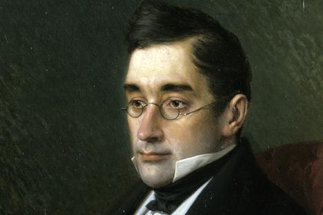 Alexander Griboyedov, portrait by I.Kramsky, 1875. Source: Pavel Balabanov / RIA Novosti