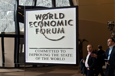 The Davos International Economic Forum held January 21-24. Source: AP