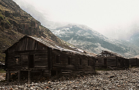 Abandoned houses of the former Gulag camps in Siberia. Source: Anton Petrov