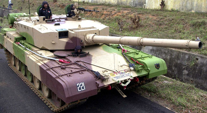 Arjun tank has been under development for nearly 40 years. Source: AP