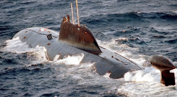 K-322 Kashalot submarine. Source: US Navy / wikipedia.org