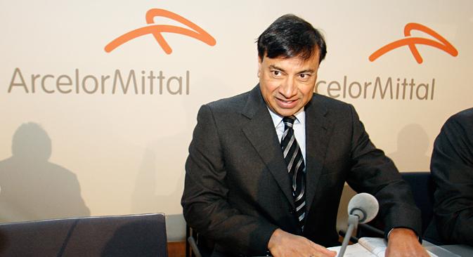 Lakshmi Mittal. Source: Reuters
