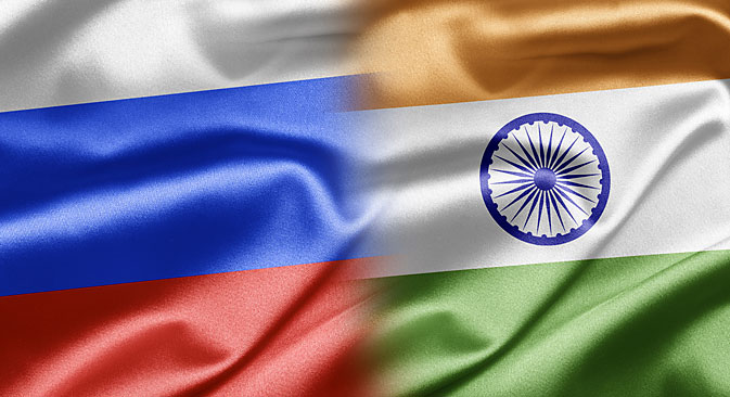 2015 will certainly be busier than 2014 in India-Russia relations. Source: Shutterstock