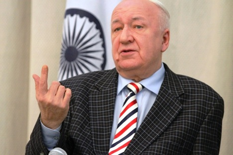 "Alexander Kadakin: ""The Americans are still a long way off from Russian-Indian cooperation."" Source: Evgeny Pakhomov / RIA Novosti"