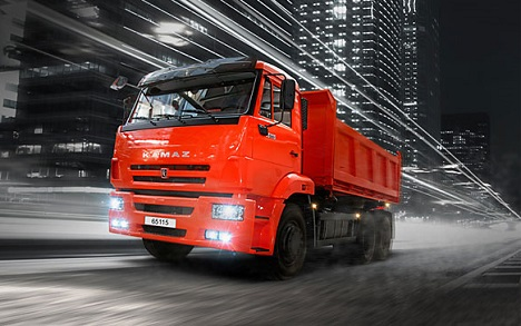 KAMAZ is the largest Russian manufacturer of commercial vehicles. Source: Press Photo